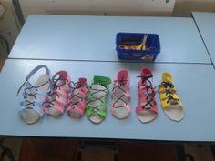 Sandalen maken