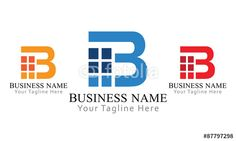 """Download the royalty-free vector """"B Block Logo Business"""" designed by FC at the lowest price on Fotolia.com. Browse our cheap image bank online to find the perfect stock vector for your marketing projects!"""
