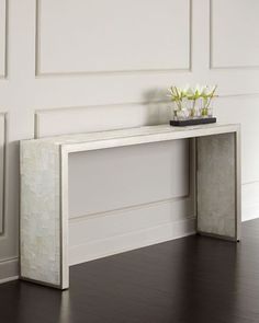 Blanc Chapel Console Table