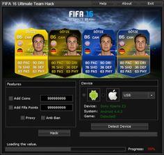 FIFA 16 Ultimate Team Hack Unlimited Coins – HackCheatEngine.com