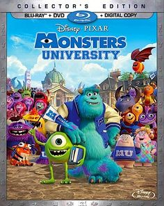 Monsters University Blu-Ray Combo October 29, 2013