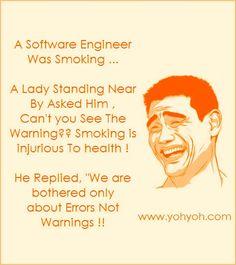 Software Engineer jokes.