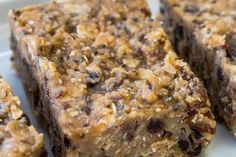 Healthy Protein Bars, Protein Bar Recipes, Ww Recipes, Healthy Dessert Recipes, Snack Recipes, Healthy Snacks, Healthy Afternoon Snacks, On The Go Snacks, Clean Eating Snacks