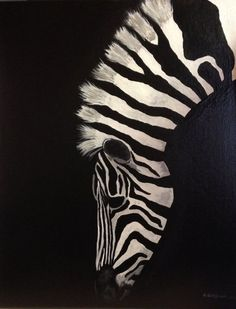 30 God Level Animal Paintings You'll Surely Love - Art ideas Zebra Painting, Zebra Art, Painting & Drawing, African Animals, African Art, Zebras, Silhouette Art, Animal Paintings, Art Drawings