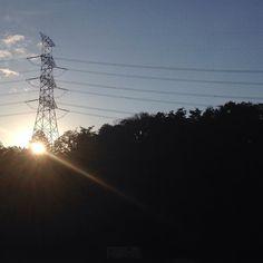 #sunset at Oyagyu Nara Japan