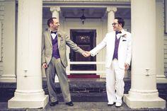Overhills Mansion in Catonsville, Maryland | gay wedding | gay wedding venue
