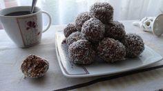 Kulki czekoladowo-orzechowe w kokosie