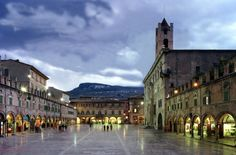 Ascoli Piceno - Lived here for a summer. Amazing history, sights, food and people.