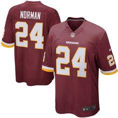 Josh Norman Washington Redskins Nike Youth Game Jersey - Burgundy - $74.99