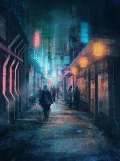 Street concept,by Derek Poole