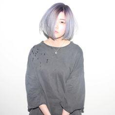 @isseyohara - Purple/grey