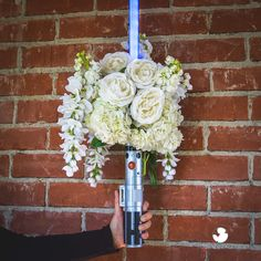 Star Wars lightsaber bouquet