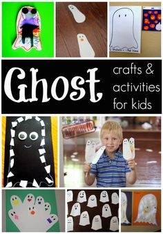 Toddler Approved!: Ghost Crafts & Activities for Kids