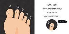 La minute blonde : l'orteil cassé (on dirait un titre de Tintin non, ou alors une œuvre de Van Gogh)
