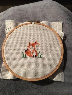 Fox!! Coin Purse, Cross Stitch, Fox, Crafty, Purses, Wallet, Design, Needlepoint, Handbags
