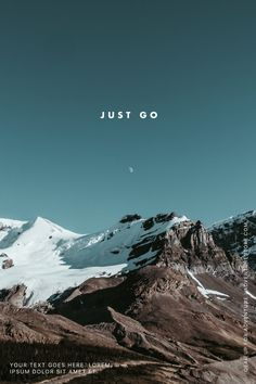 Just go. #madewithover
