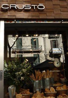 Crusto... My favorite bakery in Barcelona, Spain