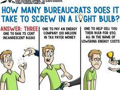 How many bureaucrats...