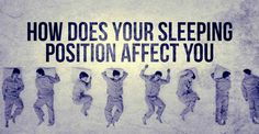 How Does Your Sleeping Position Affect You