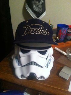 Combining Star Wars and the Anaheim Ducks. Fans of both are some of the most Dedicated around!