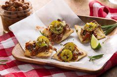Kansas City Brisket Bites - by Chef Hugh Acheson : Stacy's® Snacks  #SuperBowl #gameday