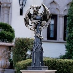 Medieval Gothic Gargoyle Dragon Home Garden Statue Sculpture - For the Hubby