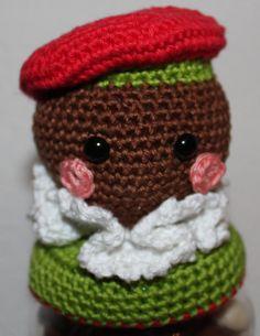 Patroon Deksels Zwart Pietje        Binnenkort is het weer Sinterklaasavond. Wij hebben de kinderen zo oud dat we lootjes trekken en voor e...