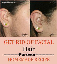 have hair women Do facial