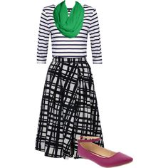 Sister missionary outfit/apparel/attire