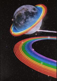 Hippie Wallpaper, Trippy Wallpaper, Wallpaper Space, Retro Wallpaper, Aesthetic Iphone Wallpaper, Galaxy Wallpaper, Aesthetic Wallpapers, Aesthetic Space, Rainbow Aesthetic