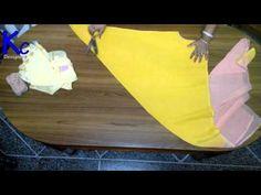 Tulip Salwar Cutting And Stitching - Tailoring With Usha - YouTube