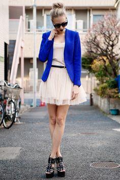 Imágenes 19 Blue Mejores Blazer Blazer De Azul Cobalt A5g5x7qwRC