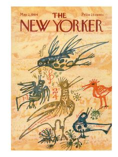 joseph low, the new yorker cover may 2 1964