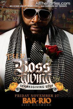 Thanksgiving Nightclub Flyer 34