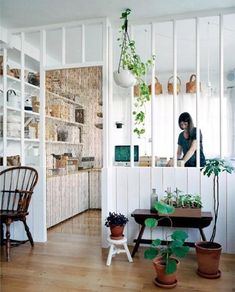 Home Interior Design — All the light and the prospect of an open kitchen. Style At Home, Living Spaces, Living Room, Kitchen Living, Open Kitchen, Funky Kitchen, Space Kitchen, Happy Kitchen, Kitchen Nook