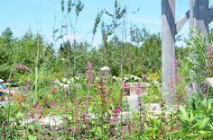 The Burpee Kitchen Garden at Coastal Maine Botanical Gardens.