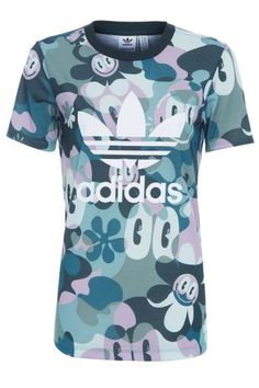 Camiseta Trefoil Adidas Originals - Verde 68d63e7f79bc7