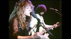 """dreams (live, soundstage), fleetwood mac, 1977. love the way she sings """"wrap around your dreams"""" at around 2:15"""