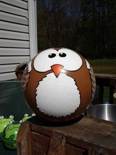 Owl Bowling ball