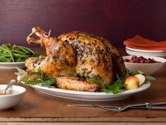 Anne's tip for extra-crispy skin? Leave it in the fridge uncovered overnight.