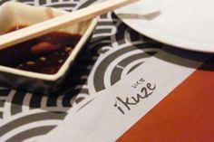 IKUZE Restaurant, Sushi All You Can Eat Menu (9.5.13)