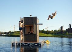 wa_sauna is a sauna designed and built to be used on Seattle's lakes year round. It is a privately owned vessel that can accommodate up to 6 people. The vessel is powered by an electric motor and heated by a wood burning stove. The lake serves...