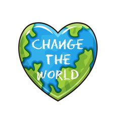 change the world - perfect for your laptop, planner, water bottle or notebook Painting Quotes, Painting On Wood, Painted Signs, Hand Painted, Hallway Displays, Craft Room Decor, Little Birds, Laptop Decal, Change The World