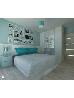 Zdjęcie: Turkusowa sypialnia