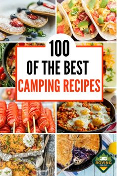 These easy camping meals are perfect for your camping trip whether you are cooki. - These easy camping meals are perfect for your camping trip whether you are cooking for a crowd, or - Camping Meal Planning, Camping Food Make Ahead, Best Camping Meals, Camping Lunches, Camping Menu, Camping Desserts, Backpacking Meals, Camping Cooking, Camping Foods