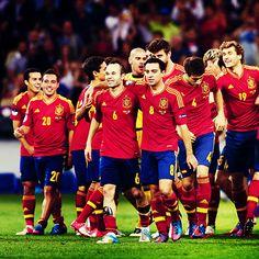 Campeones! #EURO2012 #FCB #Barca #FCBarcelona #Spain Euro 2012