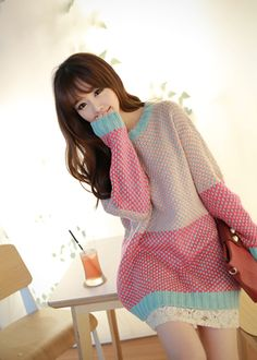 Ulzzang sweater  find a sexy and beautiful lady to talk and date, visit here