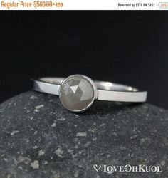 Top 10 Most Beautiful Grey Engagement Ring Styles Grey Diamond Ring, Rose Cut Diamond, Diamond Bands, Modern Engagement Rings, Engagement Ring Styles, Thing 1, Minimalist Wedding Rings, Grey Roses, Fashion Rings