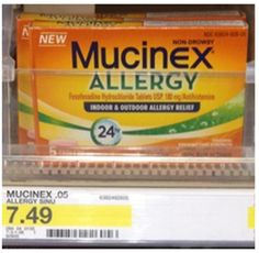 FREE Mucinex Allergy At Target!