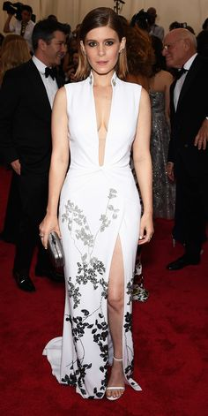 Kate Mara's Red Carpet Style - In Diane von Furstenberg, 2015  - from InStyle.com